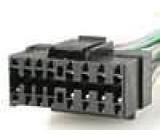 Konektor s vodiči JVC 16 PIN KD S 550