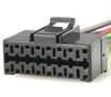 Konektor pro autorádio Panasonic s vodiči 16 PIN CQ DFX 601N, CQ RD 105R, CQ RDP 151N, CQ RDP 152N