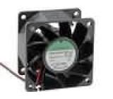 Ventilátor 24VDC 60x60x38mm 95,99m3/h 56dBA kuličkové