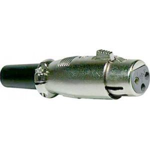 XLR zdířka Canon 3P kabel XLR189