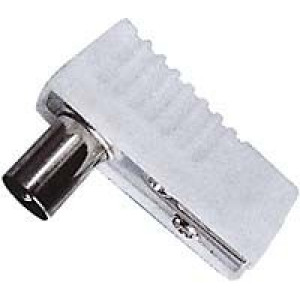TV konektor anténní úhlový