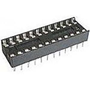 DIL28 patice obyčejná RM 2,54 úzká pro cache 7,62mm