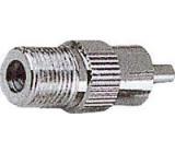 Redukce F zdířka/CINCH(RCA) konektor