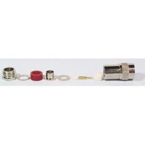 N konektor na koax 10mm (RG213) šroubovací