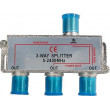 Rozbočovač IN/3x OUT 5-2400 MHz CE s F konektory