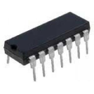 4016 4x obousměrný čítač, DIL14