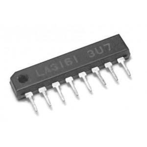 LA3161 2xnf zesilovač SIP8