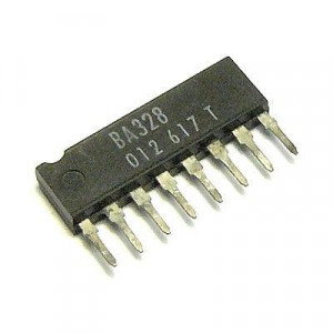 BA328 nf předzesilovač stereo SIP8