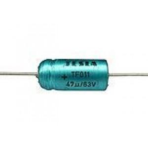 47uF/63V TF011-elektrolyt.kond.axiální
