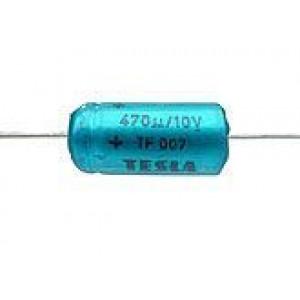 470uF/10V TF007-elektrolyt.kond.axiální
