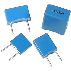 100n/63V CF1 svitkový kond. radiální RM5 =TC350