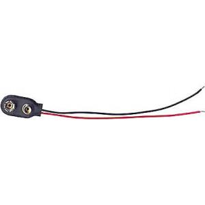 Kontakty na 9V baterii I typ,vývody 12cm