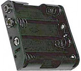 Držák baterie 4xR6/AA/UM3 + klips
