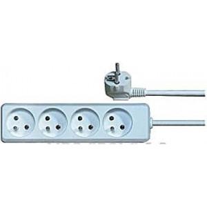 Prodlužovací přívod 1,5m-4x10A,3x1mm2