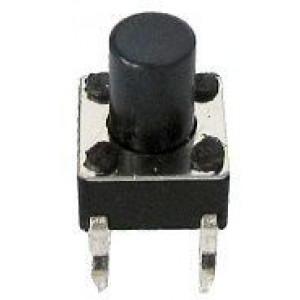 Mikrospínač 6x6mm v=7mm