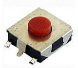 Mikrospínač SMD 6,5x6,1mm v=2,5mm