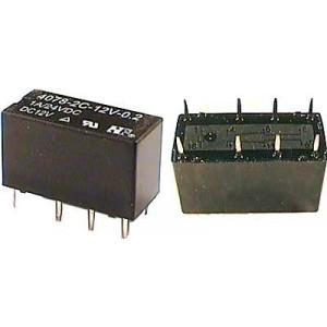 Relé JRC-19F 12V, 24V=/1A(120VAC/1A) 20x10x12mm
