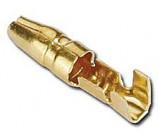 Konektor KOLĺK 4mm neizolovaný kabel 1-1,5mm2