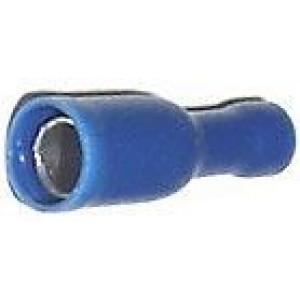 Konektor DUTINKA 4mm modrá, kabel 1,5-2,5mm2