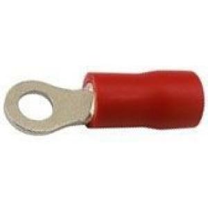 Oko kabelové 3,7mm červené (RVS 1,25-3)