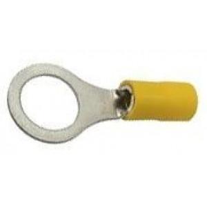 Oko kabelové 10mm žluté (RV 5,5-10)