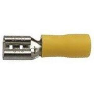 Faston-zdířka 6,3mm   pro kabel 4-6mm2