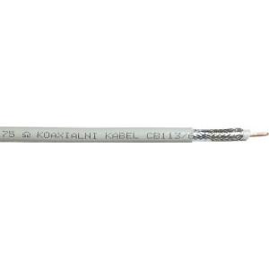 Koax 75o CB113,(KH21-náhrada)6,8mm,pěna1,13Cu+0,1x