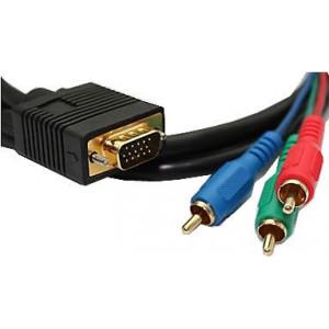 Kabel VGA 15p-3xCINCH kabel 7,5mm 3m
