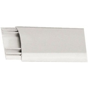 Přechodová lišta pro kabely bílá, š=30mm, v=8mm