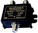 Slučovač+rozbočovač TV/SAT IVO SA03-S