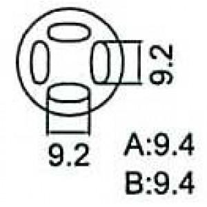 Nástavec na vyfoukávačku QFP 9,2x9,2mm