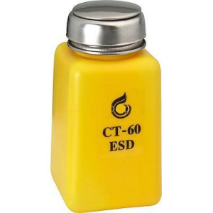 Lahvička na chemikálie 190ml s pumpičkou antistatická