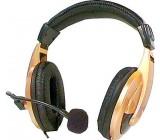 Sluchátka s elektr.mikrofonem SONIC HPCD-750Y DOPRODEJ