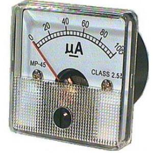 MP45 panelový MP 100uA= 45x45mm