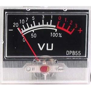 ZJ-48 panelový VU metr -20+3dB 55x48mm