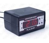 Digitální termostat -30 až 125 st.C, čidlo s kabelem 2m, stavebnice