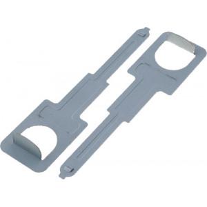 Klíče, vytahováky pro demontáž rádia Clarion.