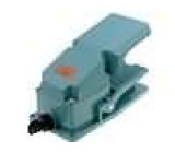Nožní spínač bez aretace 1x přepínací 15A/AC250V
