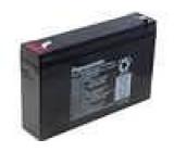 Olověný akumulátor 6V 7,2Ah 151x34x94mm Panasonic