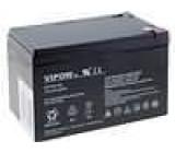 Olověný akumulátor 12V 12Ah 151x98x95mm VIPOW
