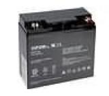 Olověný akumulátor 12V 17Ah 181x77x167mm VIPOW