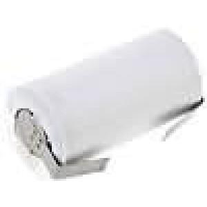 Akum: Ni-Cd SubC 1,2V 1800mAh Výv: pájecí očka Ø22,5x42,5mm