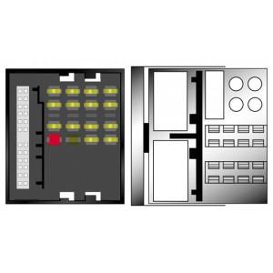 Kabeláž pro HF PARROT/OEM MERCEDES AUDIO 10 - MOST