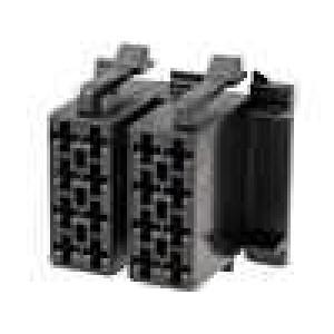 Těleso konektoru zástrčka ISO 16 PIN, piny 341432