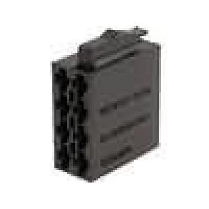 Těleso konektoru zástrčka ISO 8 PIN, piny 341432