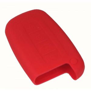 Silikonový obal pro klíč Kia Forte, Borrego, Shuma červený
