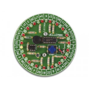 Elektronická ruleta VELLEMAN MK119 STAVEBNICE