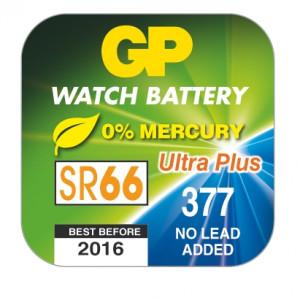 Knoflíková baterie do hodinek GP 377E v krabičce