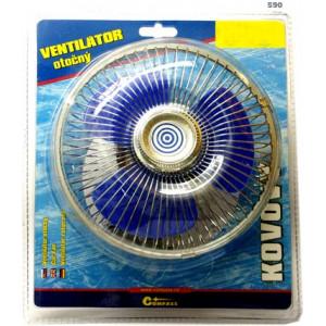 ventilátor 12V 17cm