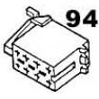izolační kryt ISO napájení (pro dutinky)